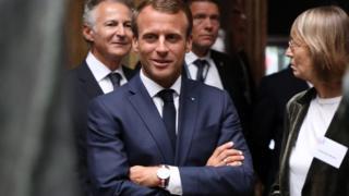 امانوئل مکرون، رئیسجمهوری فرانسه