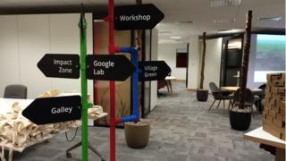 Google Lab in Belfast