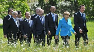 Сүрөттө 2015-жылдагы G7 саммити