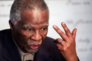 Bwana Mbeki yatanze imihoho mu 2008 agondojwe na Bwana Zuma