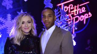 Fearne Cotton and Reggie Yates