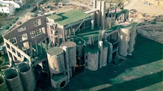 La Fábrica de Ricardo Bofill (foto aérea)