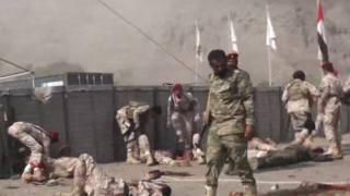 حكومة اليمن وحلفاؤها السعوديون يتهمون إيران بأنها وراء الهجمات