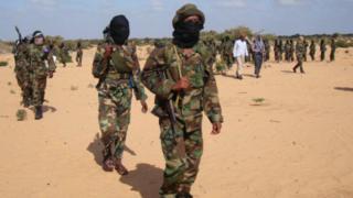 Al Shabab soldiers