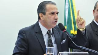 Pastor Silas Malafaia na Câmara dos Deputados em imagem de 2015