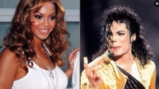 Beyonce na Michael Jackson