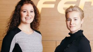 Alexandra e Katharina Andresen