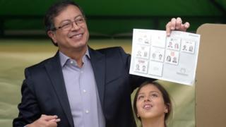 Gustavo Petro, candidato a presidente de Colombia.