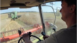 Ukraine farmer