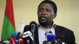 Isaias Samakuva, leader de l'opposition angolaise