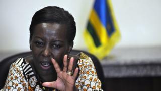 Louise Mushikiwabo répondait ainsi à l'appel du président de la commission de l'Union Africaine