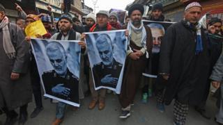 Протест в Кашмире