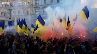 """Акція """"Ні капітуляції"""" 14 жовтня 2019 року в Києві"""