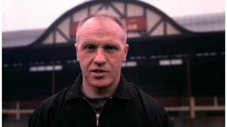 Bill Shankly at Anfield in 1965