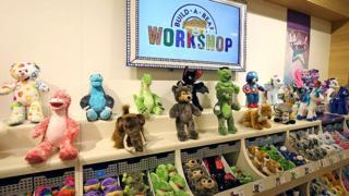 Inside a Build-a-Bear shop