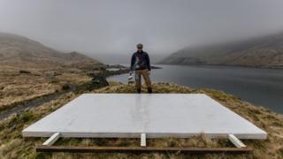 A blank 'canvas' - Garratt begins