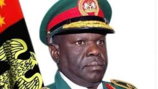 General Alkali, bin retire few weeks before dem declare say e dey miss on Monday, September 3, 2018