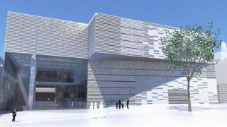 artist's impression of conference centre
