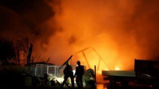 Biggleswade barn fire