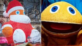 Zippy Santa and real Zippy