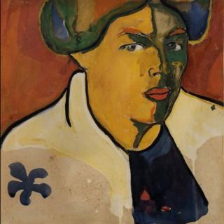 """Казимир Малевич. """"Женский портрет"""", 1910-1911. Из коллекции Георгия Костаки в Музее современного искусства в Салониках"""