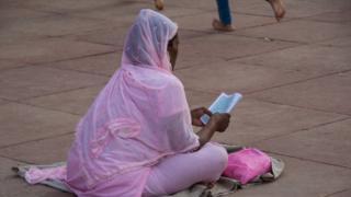 મુસ્લિમ મહિલાની તસવીર