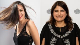 Sofia Quiros and Melina Leon