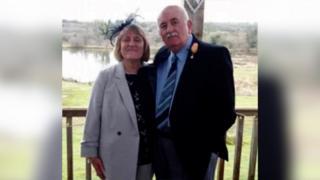 Sharon Bamford and husband Malcolm