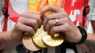 مدال های المپیک، ریو، طلا و برنز