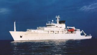 สหรัฐฯระบุว่าเรือยูเอสเอ็นเอส บาวดิทช์ กำลังทำการวิจัยอยู่ในน่านน้ำทะเลจีนใต้ขณะเกิดเหตุ