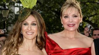 Sarah Jessica Parker (L) and Kim Cattrall (R)