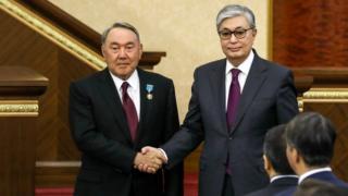 Назарбаев и Токаев