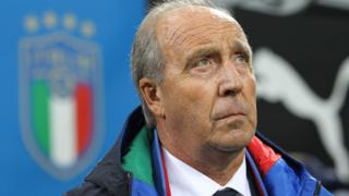 Italy national coach Giampiero Ventura