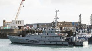 Border Force cutter