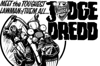 Judge Dredd advert
