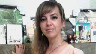 Iryna Nozdrovska (file pic)