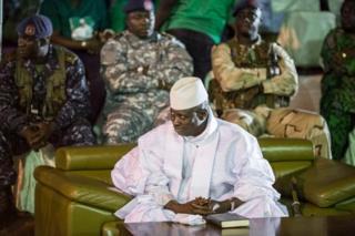 Jammeh ametaa kuondoka madarakani
