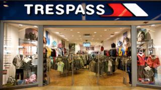Trespass shop, Ocean Terminal