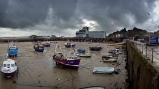 Folkestone harbour, November 2014