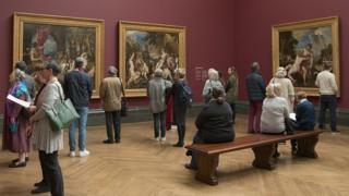 Titian installation at the National Gallery