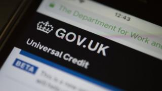 Universal credit website