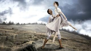 Dreda Blow and Isaac Lee-Baker in Jane Eyre