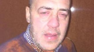 David Evans after the incident