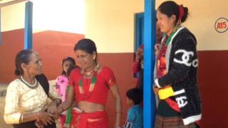 गिरानचौर स्थित एकीकृत बस्तीका महिला