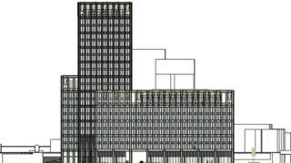 Planned 20-storey office block