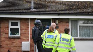 Thames Valley Police raid property