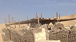 (أرشيف) وزارة الآثار المصرية أعلنت عن عديد الاكتشافات الأثرية في البلاد خلال السنوات الأخيرة