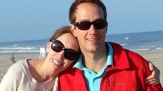 ليزا كولب وزوجها إريك