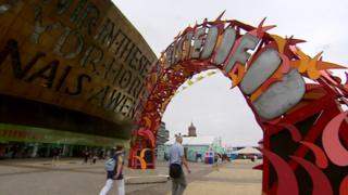 The 2018 National Eisteddfod was held in Cardiff
