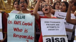 There is growing anger in India against rape and sexual violence